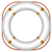 Life ring buoy — Stock Vector