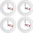 Royalty-Free Stock Obraz wektorowy: Daylight saving time concept