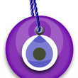 Purple bead - Stockvectorbeeld