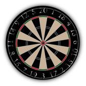 Dartboard — Stock Vector