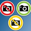 Camera Banned — Stock Vector