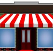 Awning — Vector de stock #19983657
