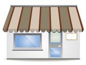 Vector awning — Stock Vector