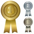 Illustration of 1st 2nd 3rd awards — Stockvector #20428667