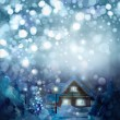 Winter landscape. Merry Christmas! — Stock Photo #21207271