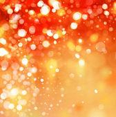 Luzes coloridas sobre fundo vermelho. — Foto Stock