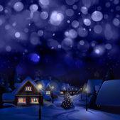Winter landscape. Merry Christmas! — Stock Photo