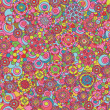 Seamless floral pattern. — Stock Photo