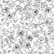 Seamless floral pattern — Stock Vector #21461991