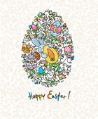 Easter card. — Stock Vector