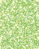 Seamless pattern of leaves. — Stock Vector