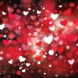 Vector background for Valentines design. — Imagens vectoriais em stock