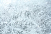Textuur van ijs. — Stockfoto