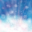 Background with snowflakes. — Stock Vector