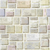 Texture of white stonewall. — Stock Vector