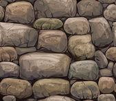 Stones in brown colors — Stock Vector