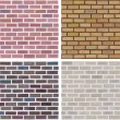 seamless texture of stonewall — Image vectorielle