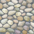 texture of pebble stonewall. — Image vectorielle