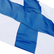 Stock Photo: Flag of Finland.