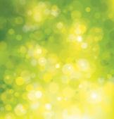 Vector green sunlights background. — ストックベクタ