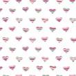 vektor sömlös hjärtan mönster — Stockvektor