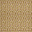 Vector seamless brown canvas texture. — Stock Vector