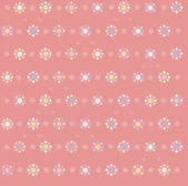 Vector floral seamless pattern, blurred, soft effect. — Stock Vector