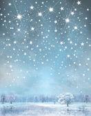 Vector winter background. — Stock Vector
