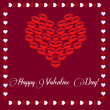Royalty-Free Stock Photo: Valentine day card