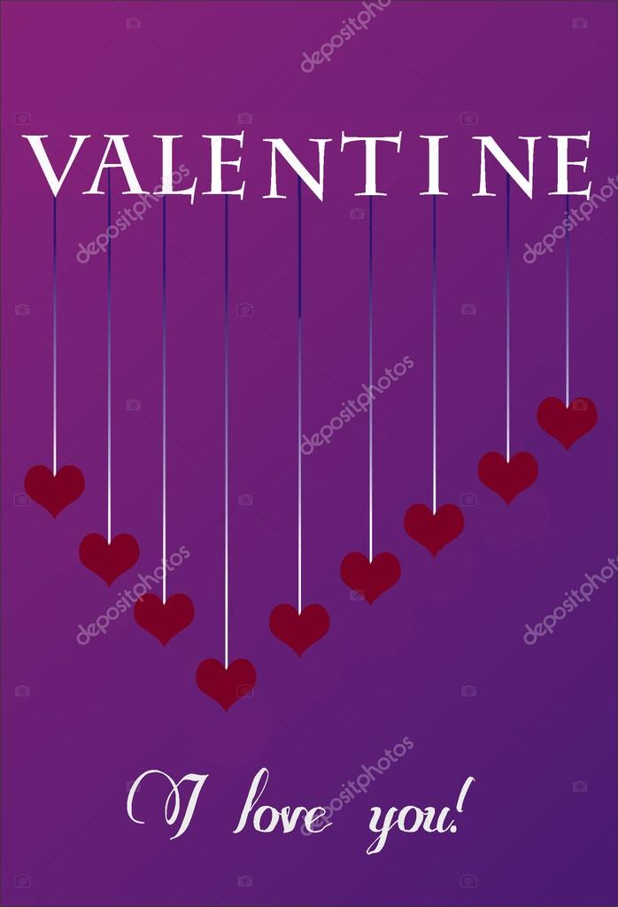 This is valentine day card  Stock Photo #19190071