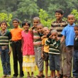 Stock Photo: Indian Village Kids