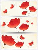 Abstraktní květinové pozadí pro design víří — Stock vektor