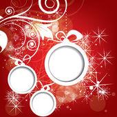 абстрактный фон зима рождественский на новый год — Cтоковый вектор
