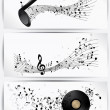 Royalty-Free Stock Vector Image: Musical abstract background
