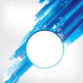 Abstracte achtergrond met gekleurde elementen — Stockvector