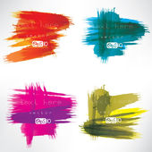 Abstract background with splash — Stock Vector