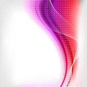 Abstract background with waves and lines — Stock Vector