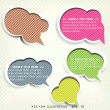 Speech bubble — Stock Vector #30218565