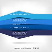 En blanco para texto — Vector de stock