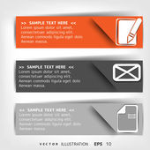 Blank for text with infographic elements — Vecteur