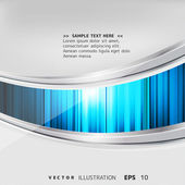 Abstract background with colored lines and geometric elements — Stock Vector