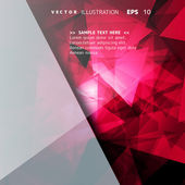 Abstract geometrical background — Vector de stock