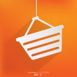 Vector de stock : Shopping basket icon