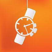 Watch,clock icon — Vetor de Stock