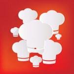 Chef cap icon. Cooking cap — Stock Vector