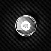 Reverse or rewind web icon — Stock Vector