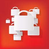 Portfolio web icon — Stock Vector