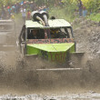4X4 Racers through mud in Ecuador — Stock Photo