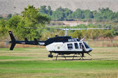 California Highway Patrol - Bell 206-L4 — Stock Photo