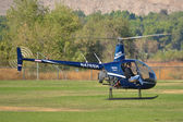 Robinson R22 Beta II — Stock Photo